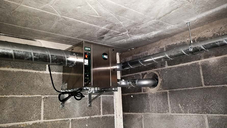 DST-menetelmä pitää huolta alapohjan kosteudesta automaattisesti